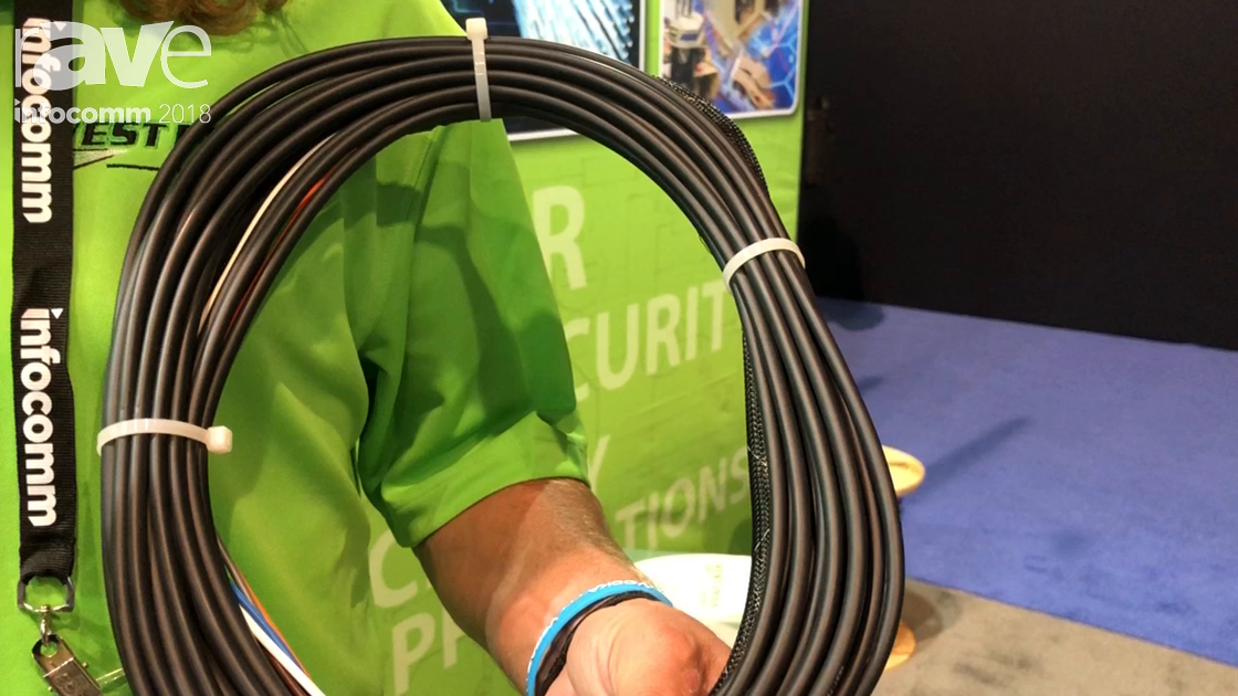 InfoComm 2018: West Penn Wire Shows Off Its Plenum Indoor-Outdoor Fiber Optic Assembly