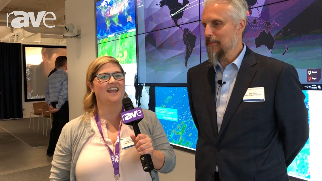 NEC Display 2018: Sara Abrons Interviews Director of Product Marketing Keith Yanke