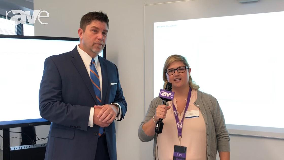 NEC Display 2018: Sara Abrons Interviews Vice President of Enterprise Sales Pat Malone