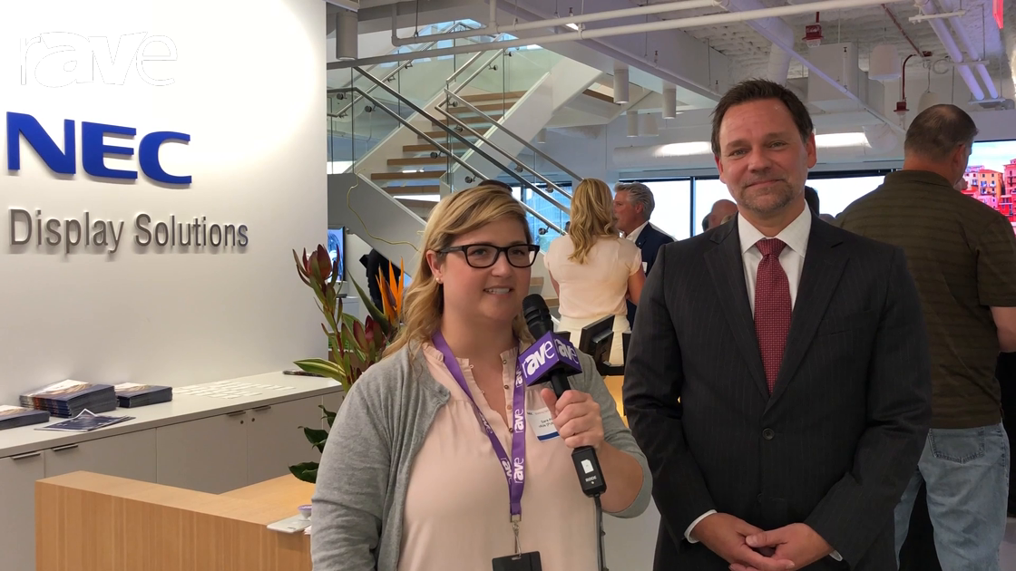 NEC Display 2018: Sara Abrons Interiews NEC Display Solutions of America President/CEO Todd Bouman
