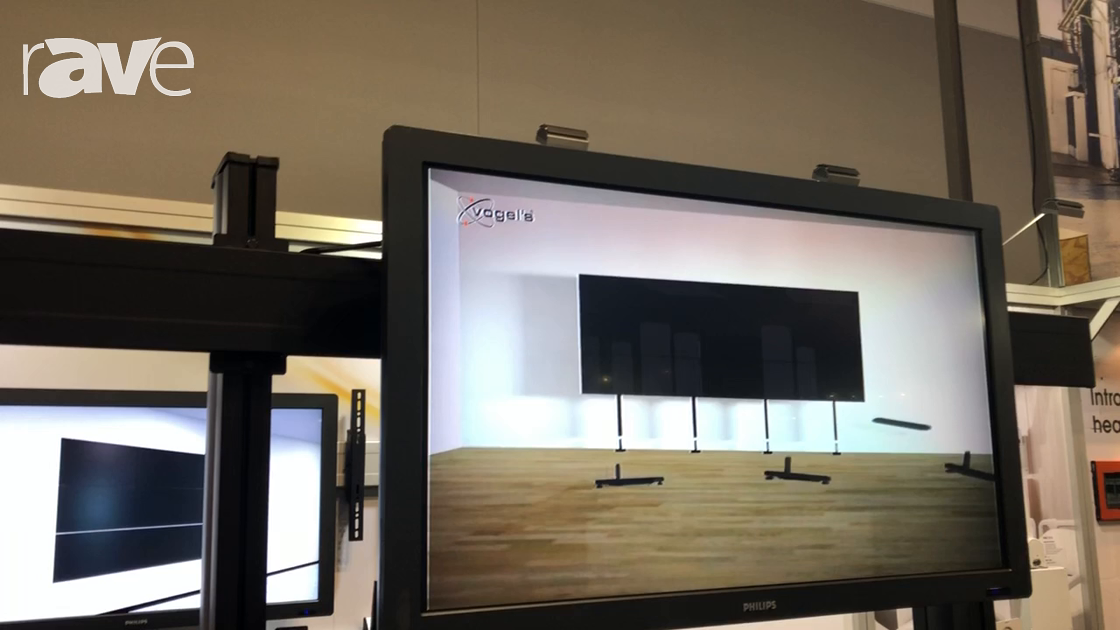 Integrate 2018: Canohm Australia Features Vogels Free-Standing Mounting Solution for Video Walls