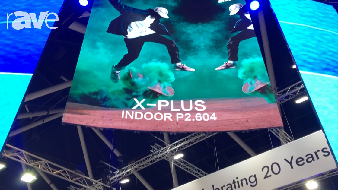 Integrate 2018: Dicolor Exhibits X-Plus Indoor P2.604 LED Display