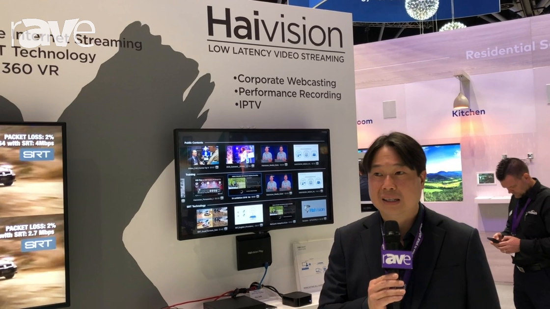 Integrate 2018: Midwich Shows Haivision KB MAX 4K Encoder, Play 2000 and Play 4000 Media Platforms