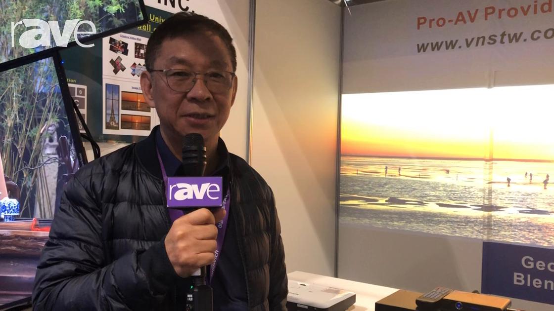 Integrate 2018: VNS Features Its GeoBox Edge Blending Processor
