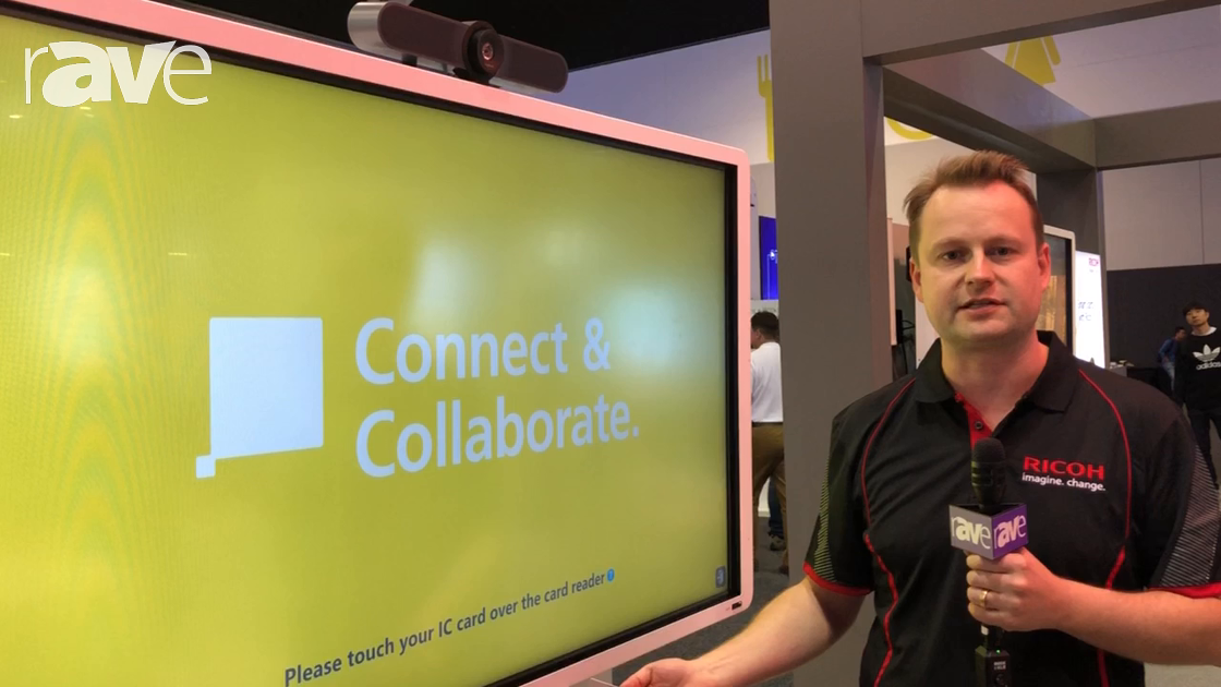 Integrate 2018: Ricoh Showcases Interactive Whiteboard Product with Secure Authentication