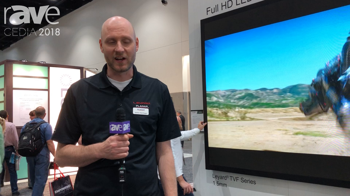CEDIA 2018: Leyard Planar Features Its TVF Series Full HD LED Video Wall