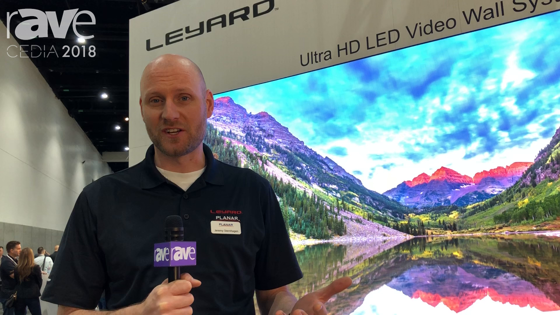 CEDIA 2018: Leyard Planar Shows Its DirectLight X LED Video Wall System