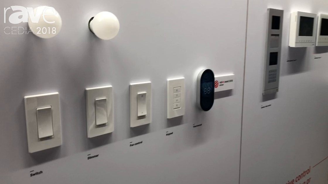 CEDIA 2018: ABB Shows Off Its Thermostat and Other Home Automation Features