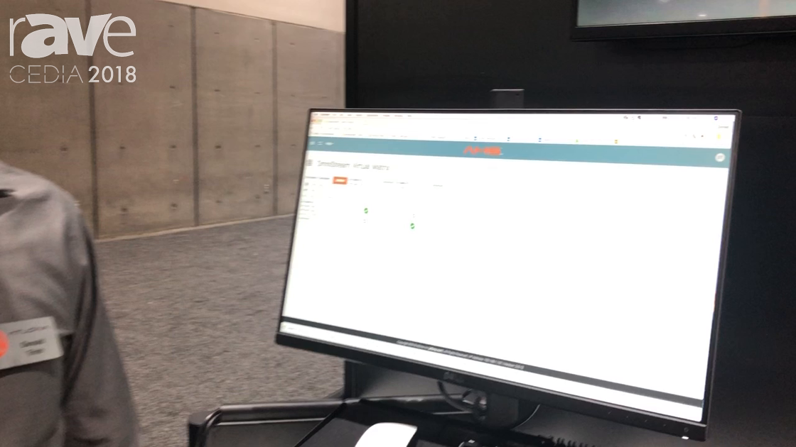 CEDIA 2018: Atlona Demos Its Atlona Management System for System Configuration