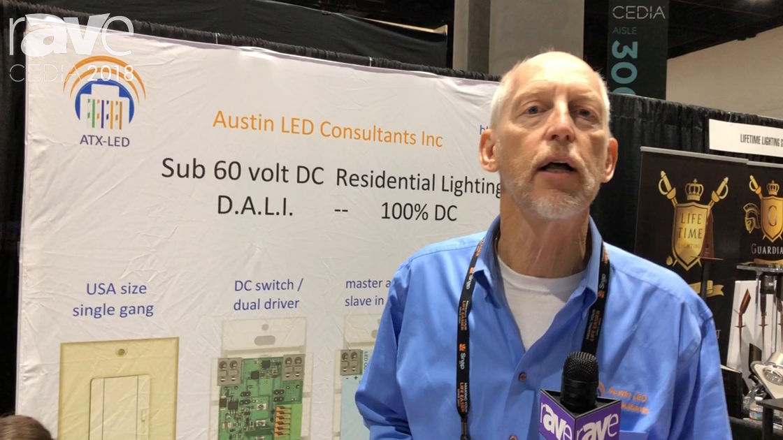 CEDIA 2018: Austin LED Consultants Shows Alexa, Google Home, IFTTT to DMX/DALI Lighting Controller