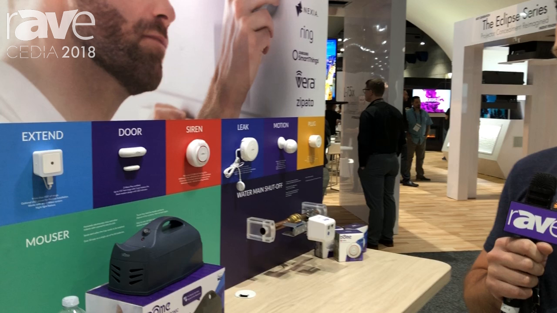 CEDIA 2018: Dome Home Automation Features Z-Wave Extender at the Z-Wave Alliance Booth