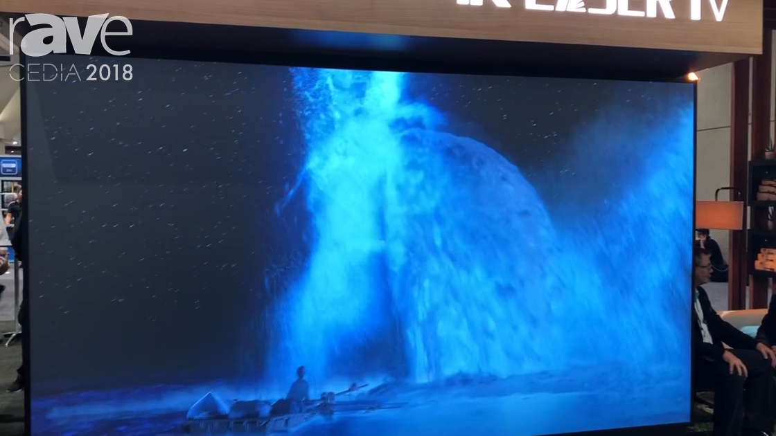 CEDIA 2018: Hisense Features Its 100″ Laser Smart TV With Wireless Audio System