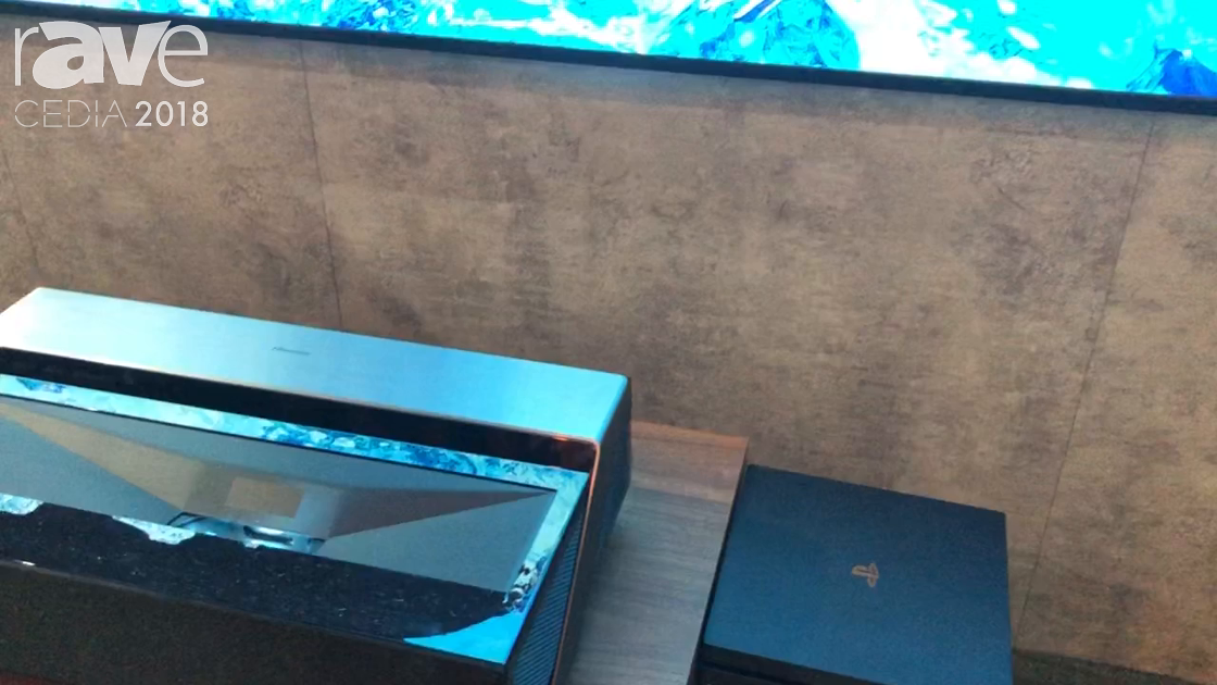 CEDIA 2018: Hisense Unveils Its 120″ Dual Laser Smart TV With Wireless Audio System