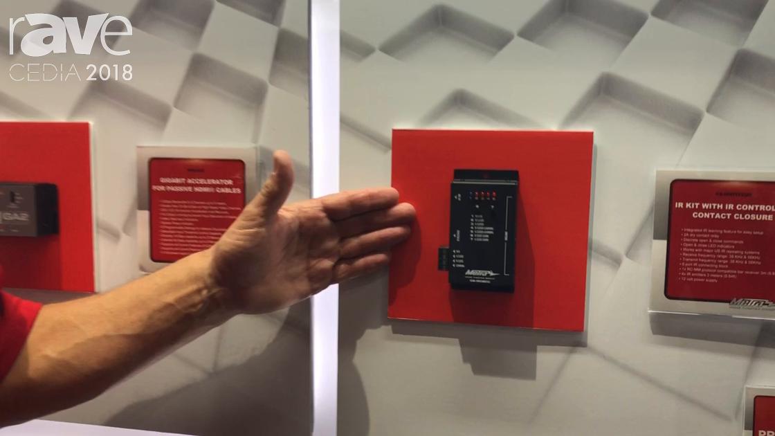 CEDIA 2018: Metra Home Theater Intros IR Kit With IR Controlled Contact Closure