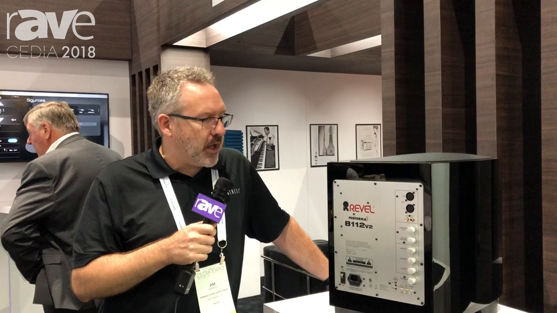 CEDIA 2018: Revel Shows Off the Performa3 B112v2 Subwoofer