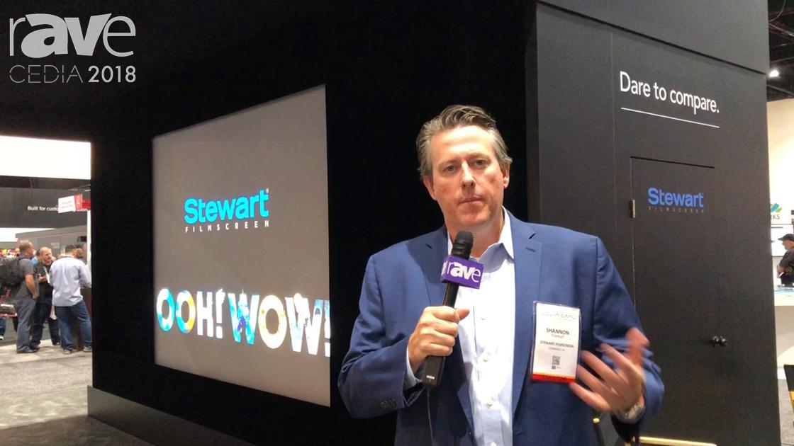 CEDIA 2018: Stewart Filmscreen Updates Director's Choice Masking System