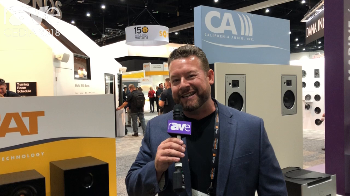 CEDIA 2018: California Audio Technology Customizes Everything