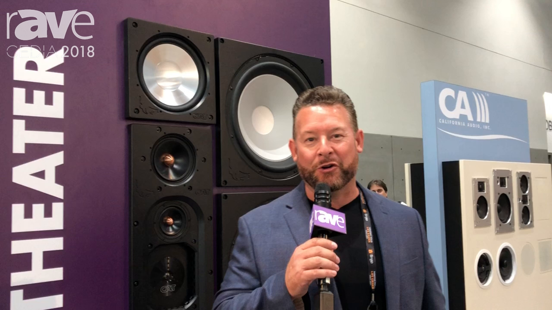 CEDIA 2018: California Audio Technology Showcases Its Home Theater Speaker Solutions