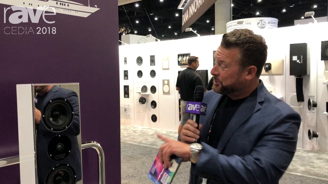 CEDIA 2018: California Audio Technology Talks About Its Yacht and Outdoor Speaker Solutions