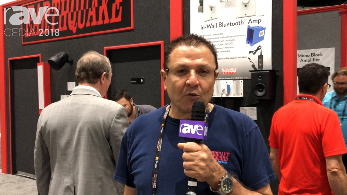 CEDIA 2018: Earthquake Sound Talks About How Its Hum Kleaner Works