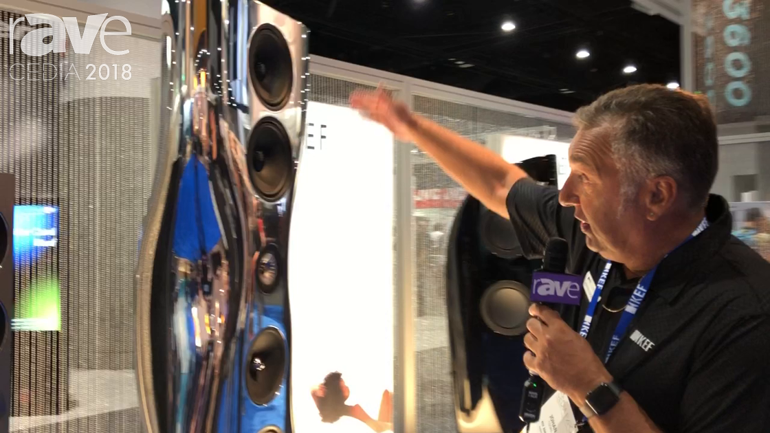 CEDIA 2018: KEF Shows Off the Flagship Muon Ultra Modern HiFi Speakers