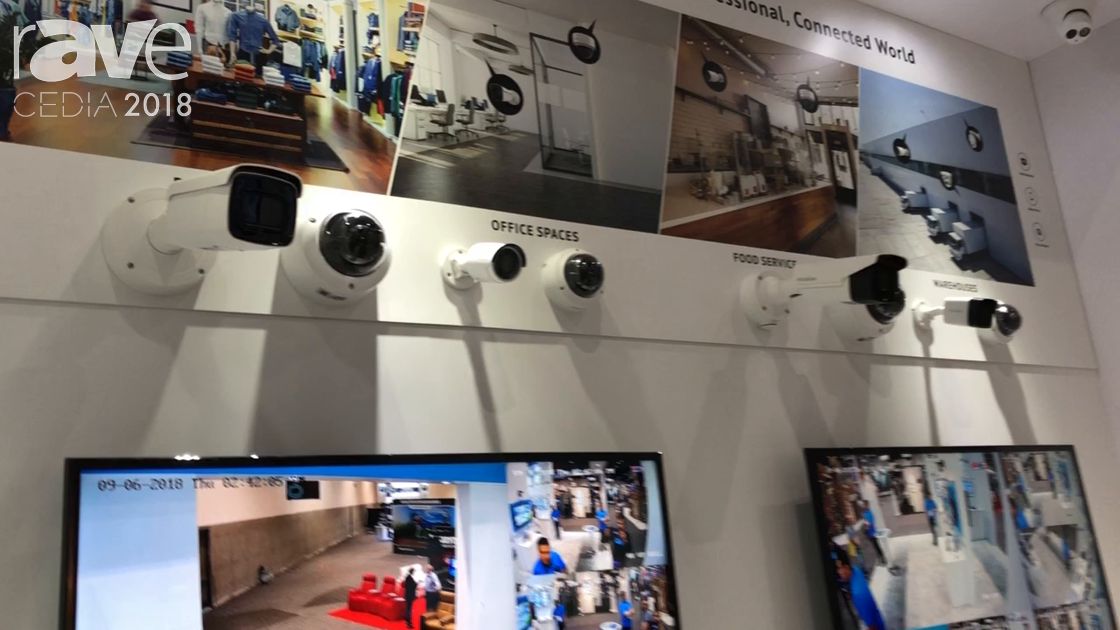 CEDIA 2018: LaView Security Showcases the Full 4K NVR and PTZ, Dome Cameras