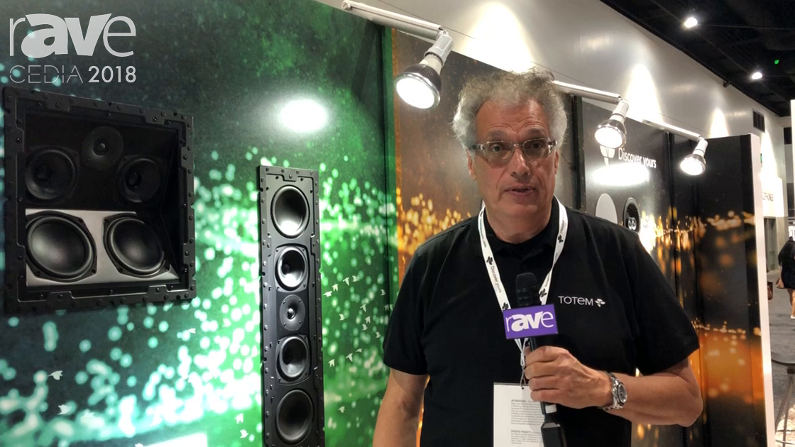 CEDIA 2018: Totem Acoustic Shows Tribe KIN Angled Speakers, In-Wall and In-Ceiling Speaker Solutions