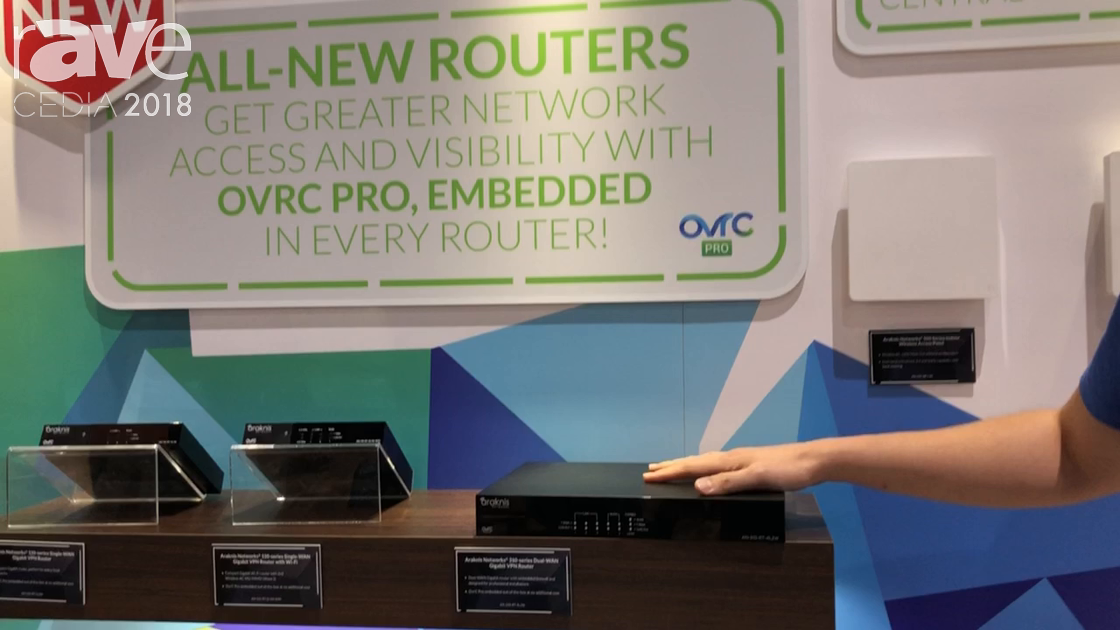 CEDIA 2018: Araknis Shows the 310-Series Dual-WAN Gigabit VPN Router at the SnapAV Booth
