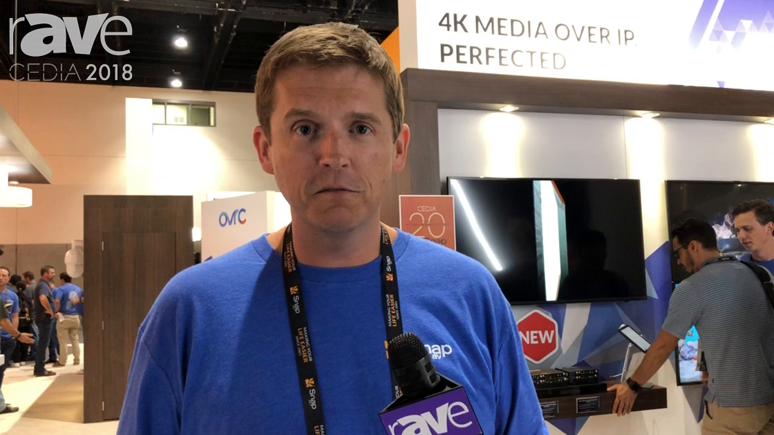CEDIA 2018: Binary Features the 4K Media Over IP (MoIP) Distribution System at the SnapAV Booth