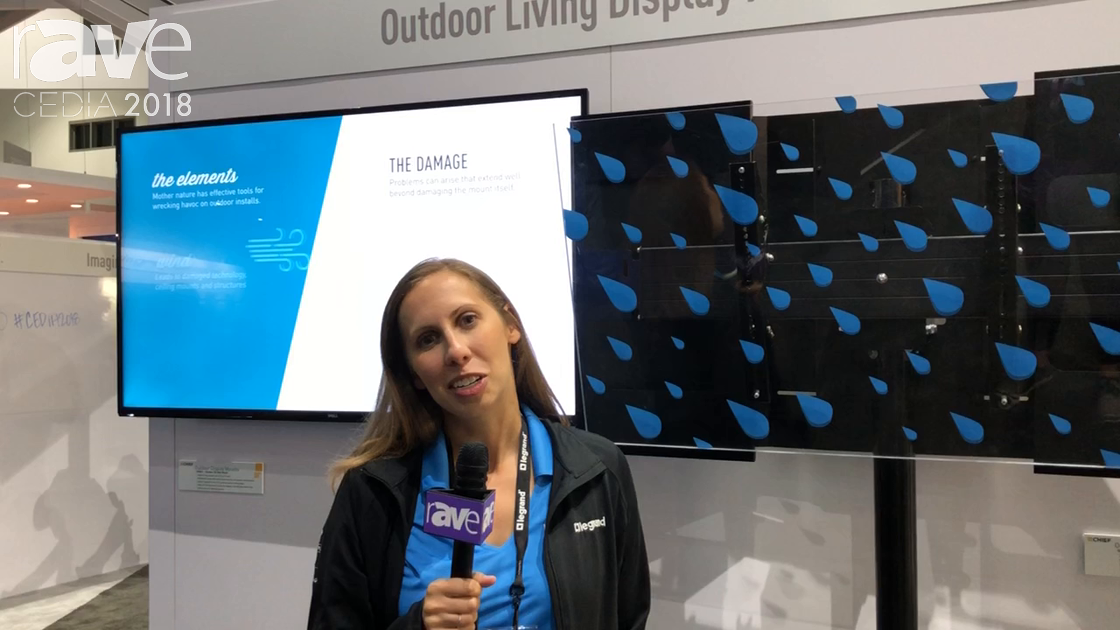 CEDIA 2018: Chief Features Its Outdoor Display Mounts
