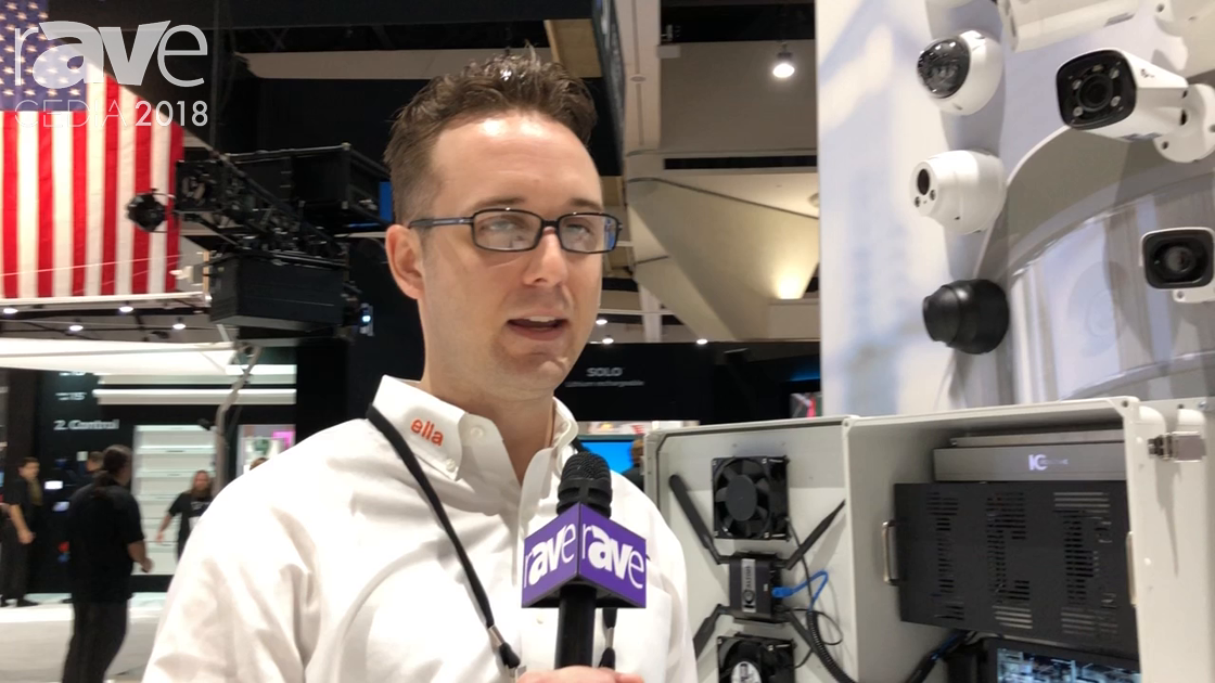 CEDIA 2018: IC Realtime Features HD-AVS 4K Over Coax Survelliance Cameras