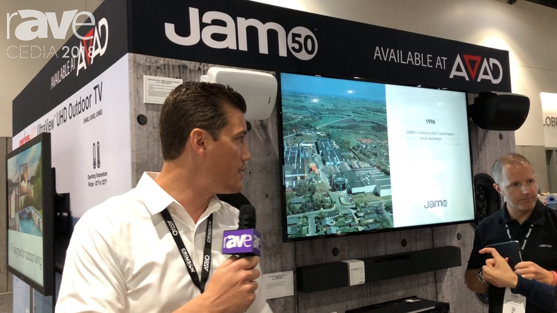 CEDIA 2018: Jamo Shows Off New Line of Speakers Available at AVAD