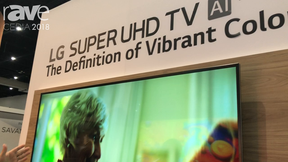 CEDIA 2018: LG Intros the SK8070PUA 4K HDR Smart LED Super UHD TV With AI ThinQ