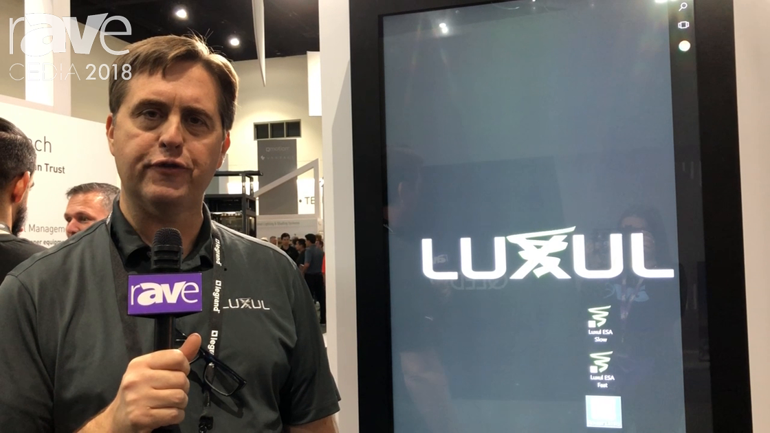 CEDIA 2018: Luxul Demos Its New Luxul Easy Setup Application
