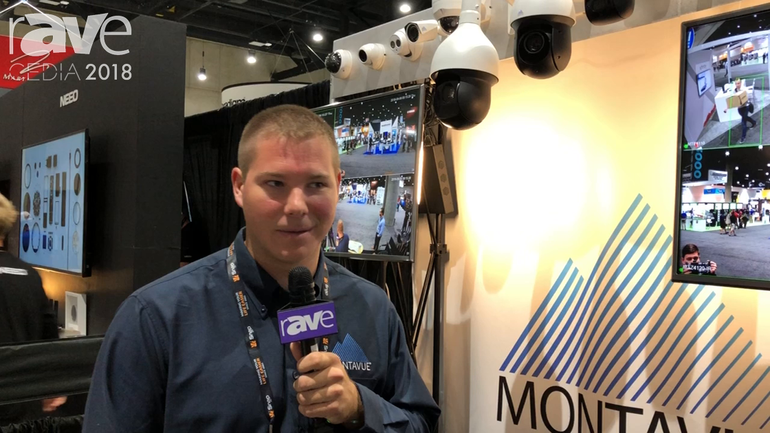 CEDIA 2018: Montavue Specializes in 4K IP Surveillance Systems