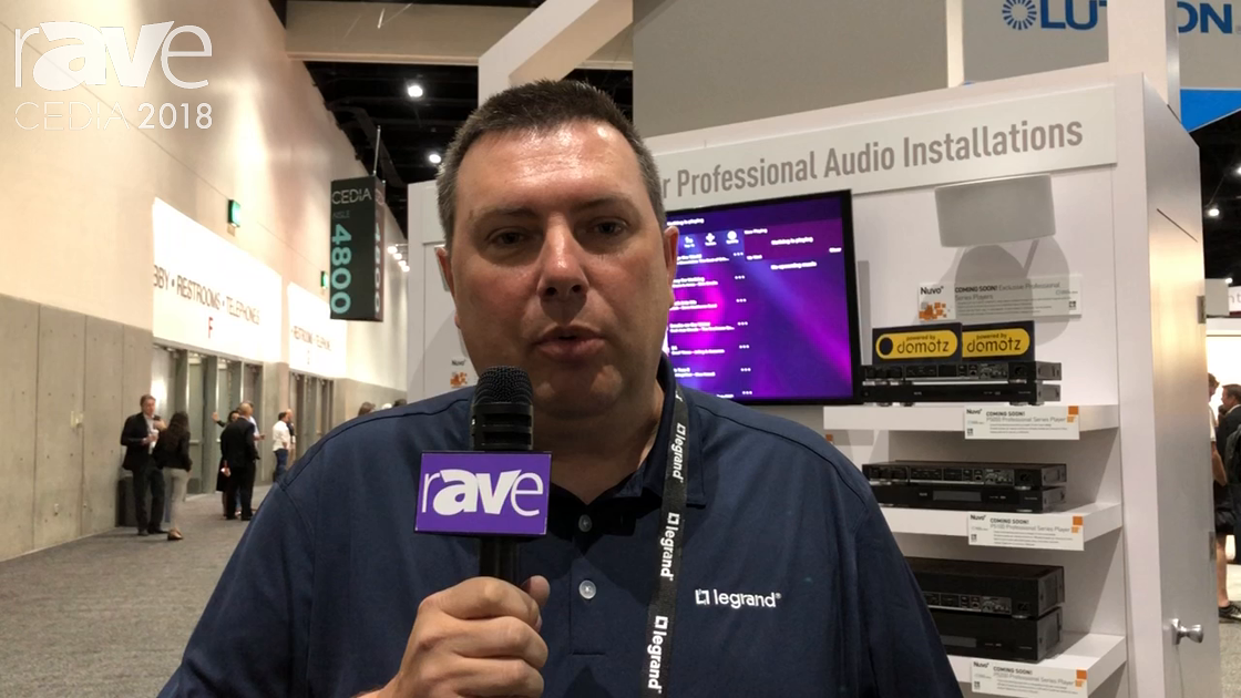 CEDIA 2018: Nuvo Adds Alexa Integration to Nuvo Player, Integration With Leading Control Providers