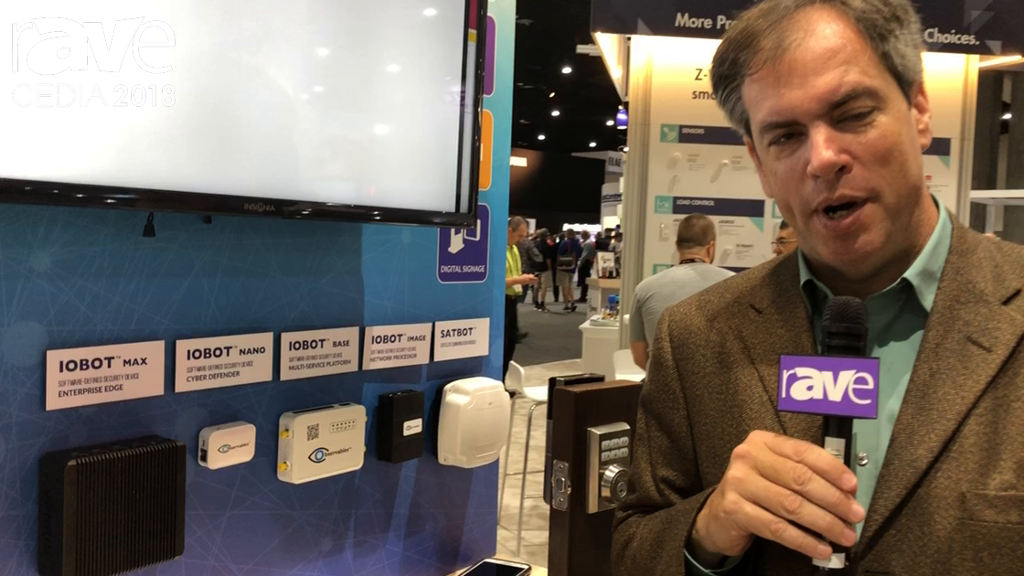 CEDIA 2018: Observables Shows IOBOT Network Management, Control System at the Z-Wave Alliance Booth