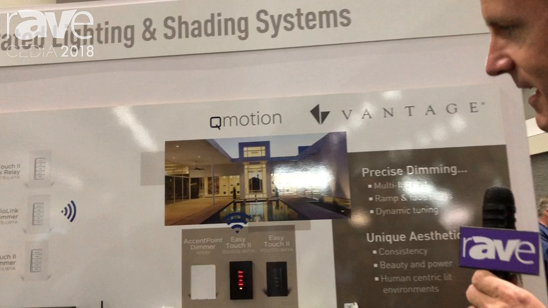 CEDIA 2018: QMotion Features the Upgradeable Qbasic Plus Manual Roller Shade