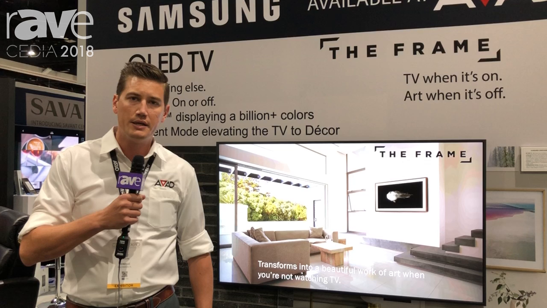 CEDIA 2018: Samsung Shows the Frame 2.0 TV at the AVAD Stand