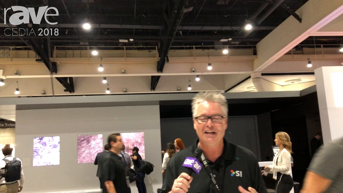 CEDIA 2018: Screen Innovations Demos the 160-Inch Zero-G Motorized Screen That Can Drop 16 Feet