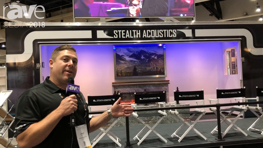 CEDIA 2018: Stealth Acoustics Shows Off Invisible Speaker and Stealth Patio Theater Demo
