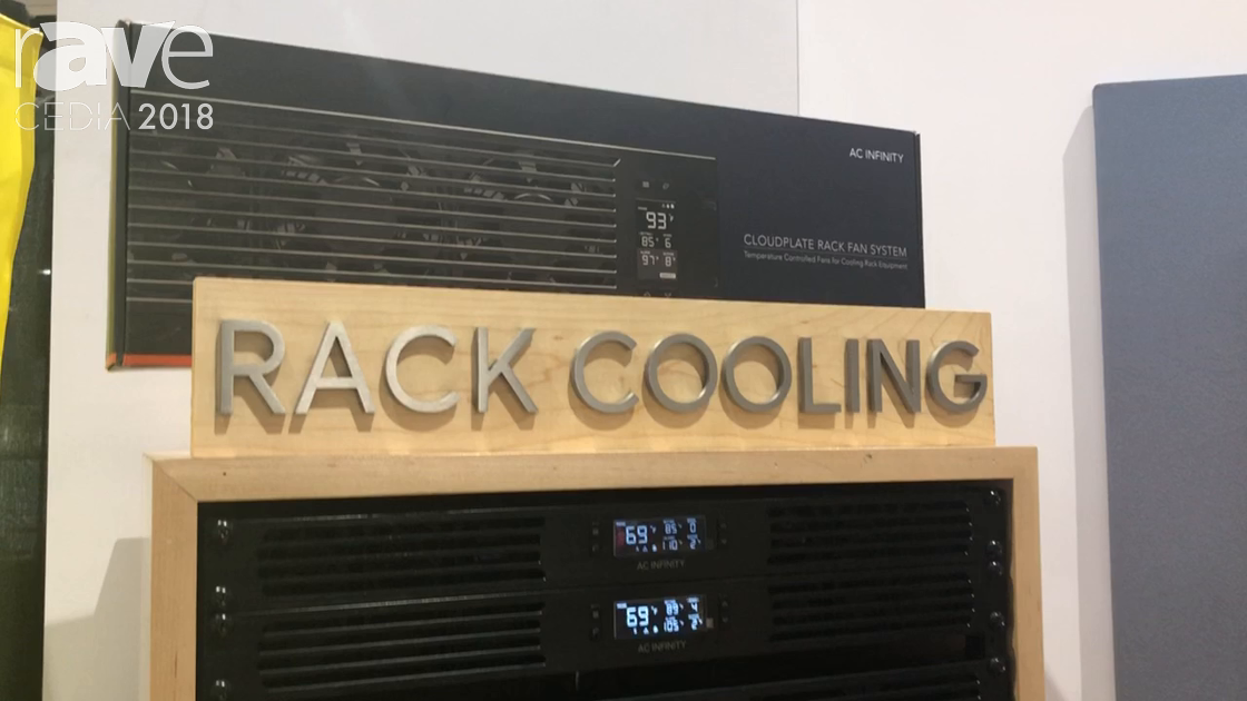 CEDIA 2018: AC Infinity Exhibits Rack Mount Cooling Solutions