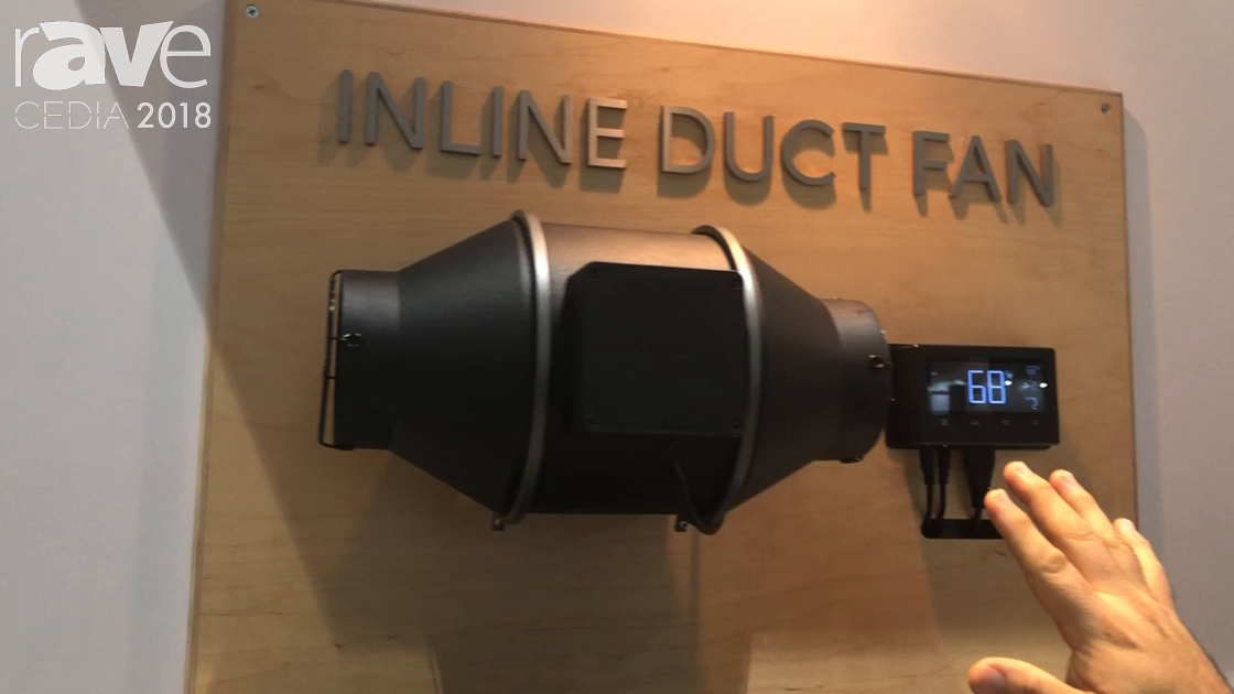 CEDIA 2018: AC Infinity Shows Cloud Line of Inline Duct Fans