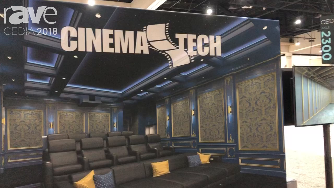 CEDIA 2018: CinemaTech Highlights Design Program for Build-Out and Room Specs
