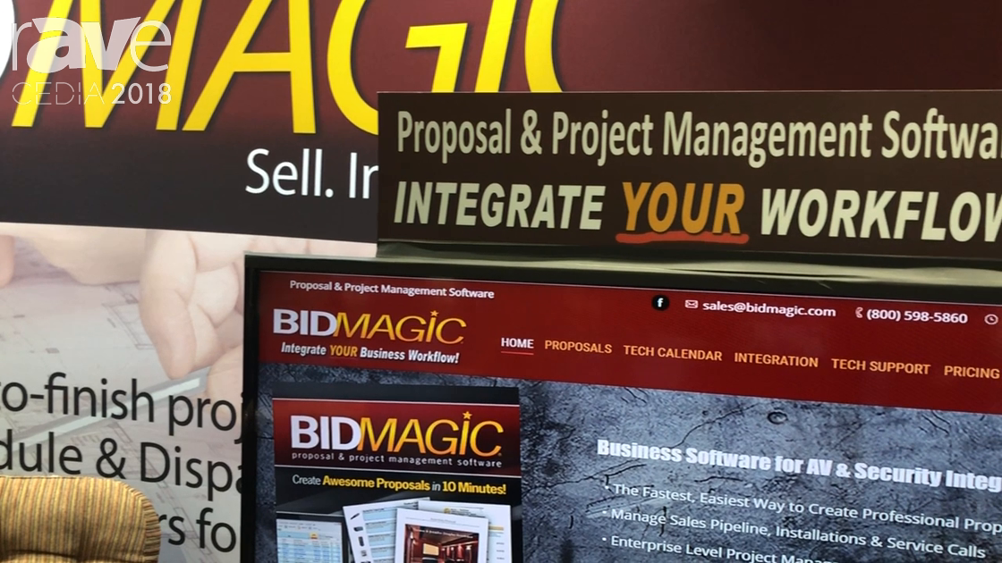 CEDIA 2018: BidMagic Discusses BidMagic Proposal and Project Management Software