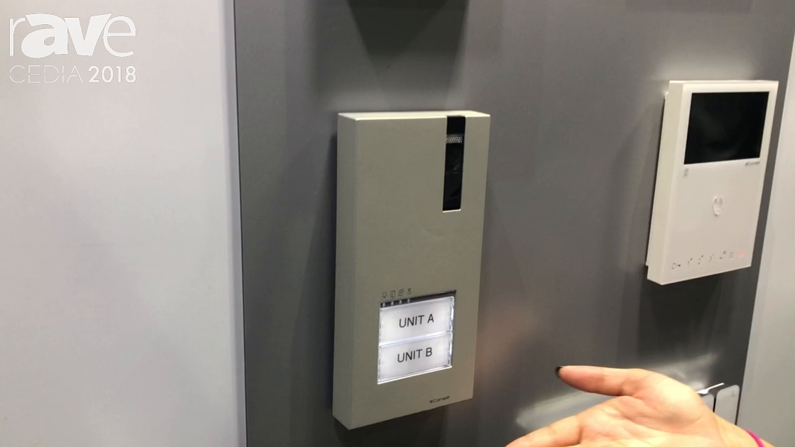 CEDIA 2018: Comelit Highlights HFX-7000-MW Quadra Kit and Mini HF Wi-Fi