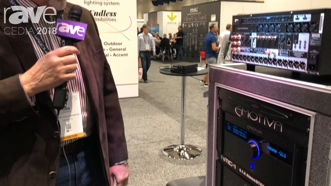 CEDIA 2018: Emotiva Audio Showcases RMC-1 Cinema Processor