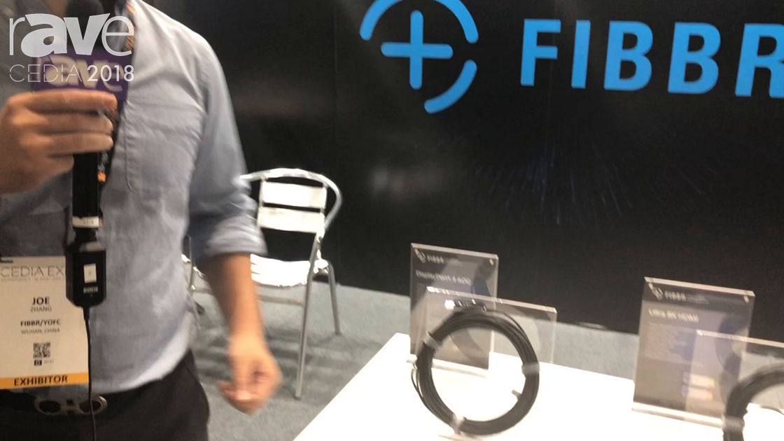 CEDIA 2018: FIBBR Talks About Range of Fiber Optic Cable Offerings