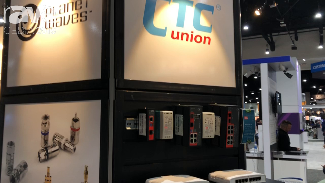 CEDIA 2018: Future Ready Solutions Discusses CTC Union Fiber-To-Copper Switches