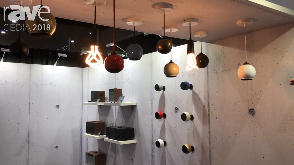 CEDIA 2018: Gallo Acoustics Features Droplet Pendant Speakers With Color Customization